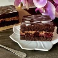 Kostka czekoladowo-wiśniowa