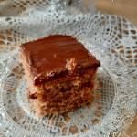 Kakaowe ciasto z rodzynkami