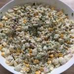 Sałatka makaronowa z szynką