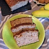 Niskokaloryczny chlebek bananowo – kokosowy