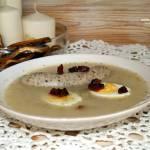Wielkanoc - zakwas na żur, żur, biała kiełbasa