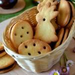 Kruche ciasteczka z kremem czekoladowym