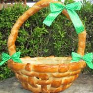 Wielkanocny koszyk z ciasta-jak zrobić