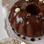 Podwójnie czekoladowa babka na kefirze