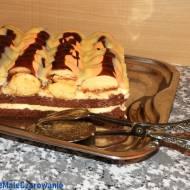 """""""Góra lodowa"""" czyli pyszne ciasto  z czekoladą"""