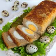 Domowy Pasztet Wielkanocny z Jajkiem (Wieprzowo-Wołowy)