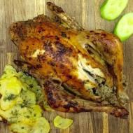 Świąteczny obiad: faszerowany kurczak, nadziewana kaczka i gęś