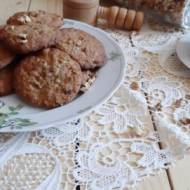 Ciasteczka jaglane z białą czekoladą