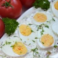 Jajka w sosie tatarskim