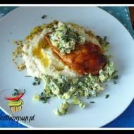Kalafiorowe puree z piersią z kurczaka