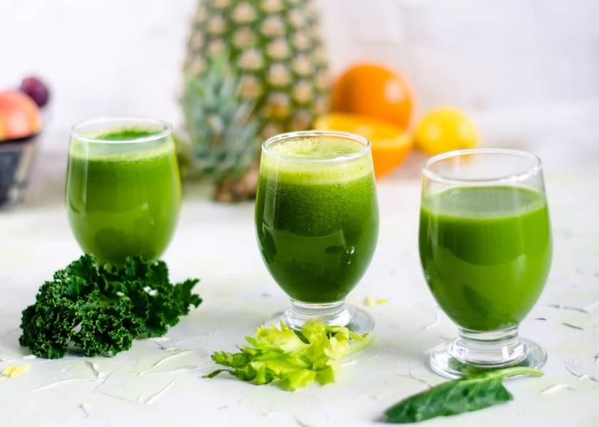 Zielone soki odchudzające