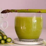 Koktajl z zielonymi szparagami - super fit
