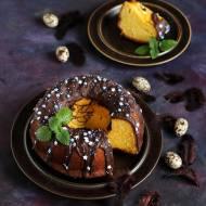 Babka pomarańczowa z czekoladą