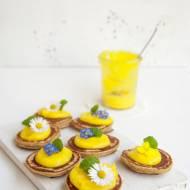 Racuszki z mąki bananowej z lemon curd