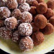 Kuleczki z ciecierzycy (bez cukru, glutenu, laktozy)