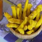 Paluszki serowe z curry
