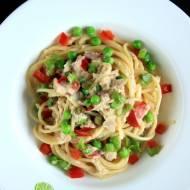 Obiad w 30 minut: Makaron z tuńczykiem i zielonym groszkiem