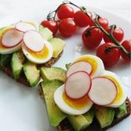 Szybkie śniadanie: kanapka z awokado i jajkiem