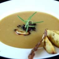 Zupa krem z pieczonego ziemniaka