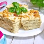 Krakersiak z orzechami – ciasto bez pieczenia