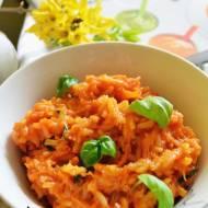 Risotto pomidorowo marchewkowe i recenzja książki ; Supermix - termoposiłki dla niemowląt.
