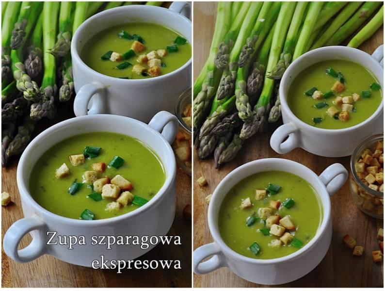 Zupa szparagowa ekspresowa
