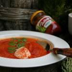 Kremowe pomidorowe – zupa krem z pomidorów i batatów