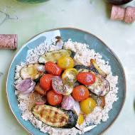 Kuskus z grillowanymi warzywami