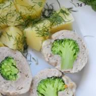 Pulpety z indyka z brokułem
