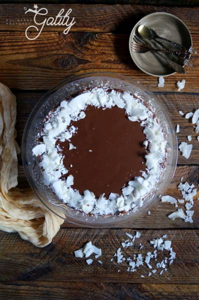 Sernik kokosowy Bounty na zimno