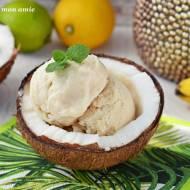 Lody kokosowo-bananowe
