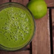 Zielone smoothie z limonką