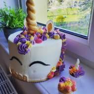 Unicorn tort jednorożec