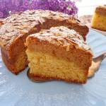 Ciasto amaretto z kremem z ricotty (Torta con amaretti e crema di ricotta)