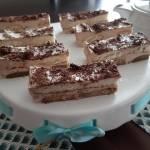 Fantazja Bananowo Kawowa -Ciasto bez pieczenia