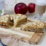 Sypane ciasto jabłkowe
