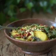 Sałatka ziemniaczana ze szparagami