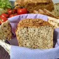 Szybki chleb z ziarnami.