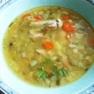 Zupa jarzynowa z fasolą i kapustą