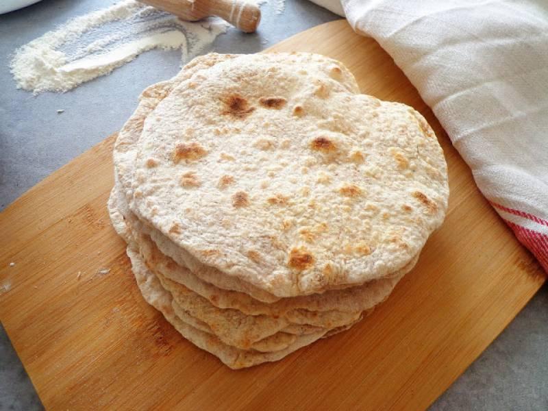 Domowe razowe tortille (Tortilla integrale)