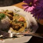 Delikatne curry z kurczakiem i warzywami
