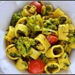 Makaron z indykiem i warzywami