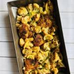 Środa: Zapiekanka z kalafiora z kurczakiem