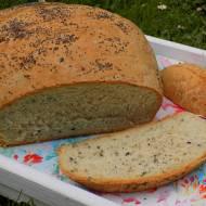 szybki chleb pszenno-żytni z makiem