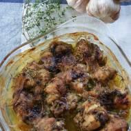 Kurczak pieczony w maśle i ziołach