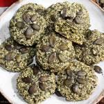 Ciastka z pestek dyni (tylko 3 składniki, bez tłuszczu i mąki)