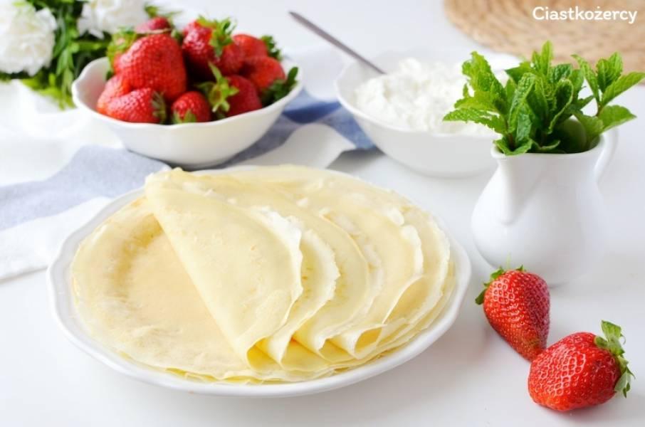 Naleśniki – prosty przepis na ciasto