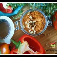 Pesto z czerwonej, pieczonej papryki
