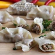 Pierożki JIAOZI - gotowane na parze (nadziane mięsem mielonym)