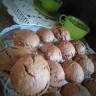 Poduszeczki czekoladowo orzechowe